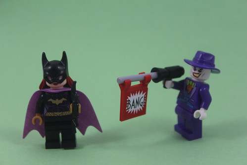 Batgirl Versus the Joker