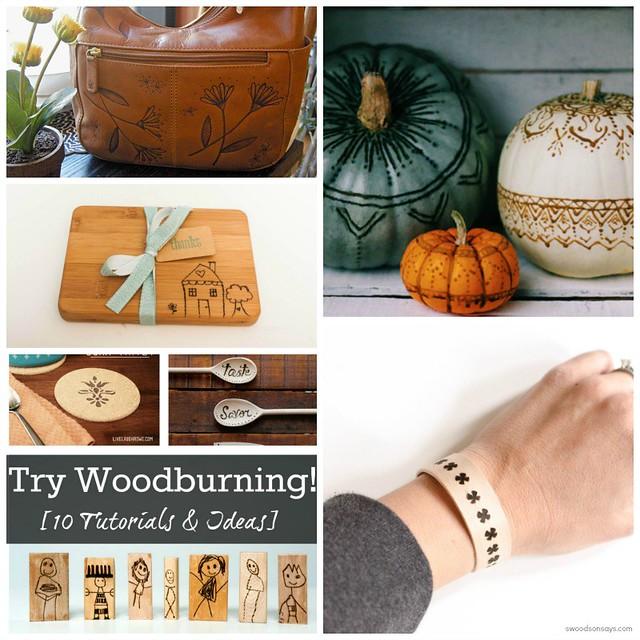 Woodburning Tutorials and Ideas