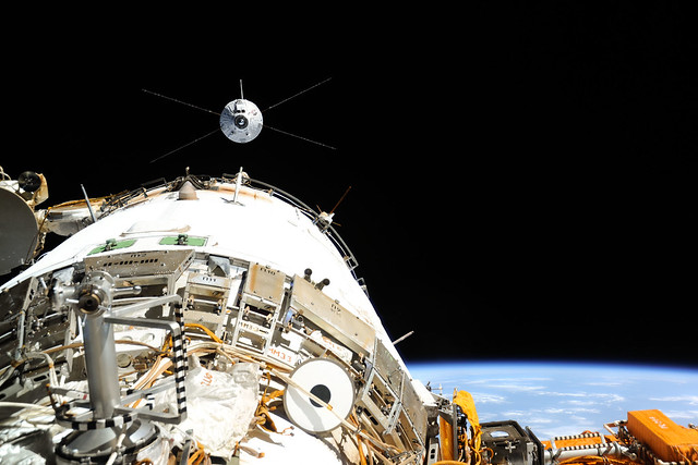 ATV-4 homing in on the Station