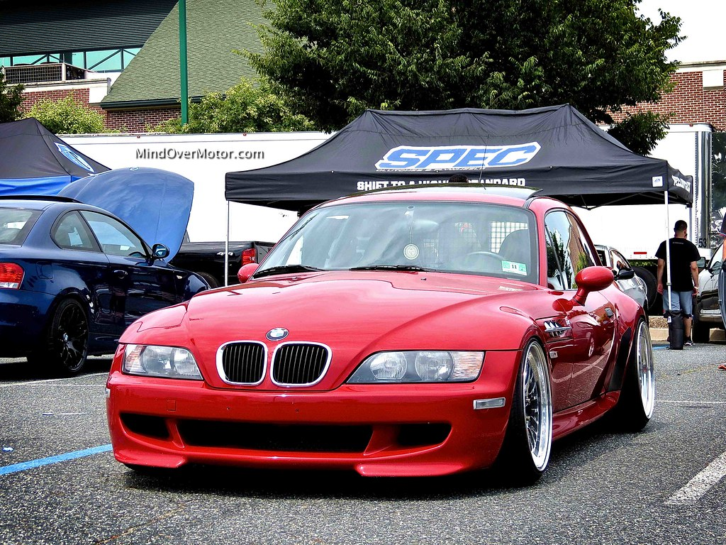 Slammed BMW Z3 M Coupe