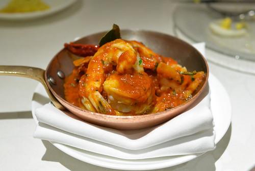 Gambas Al Ajillo the very, very famous tapa of shrimp sautéed with garlic