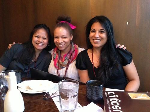 Genevieve, me, Reshma