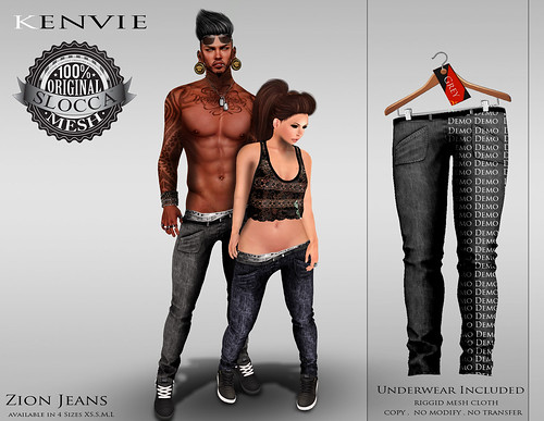 KENVIE.Zion Jeans AD Neww by xmike deed
