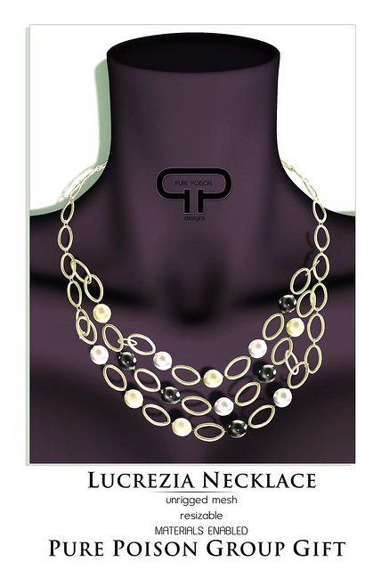 Pure Poison - Lucrezia  Necklace - 2nd January Group Gift