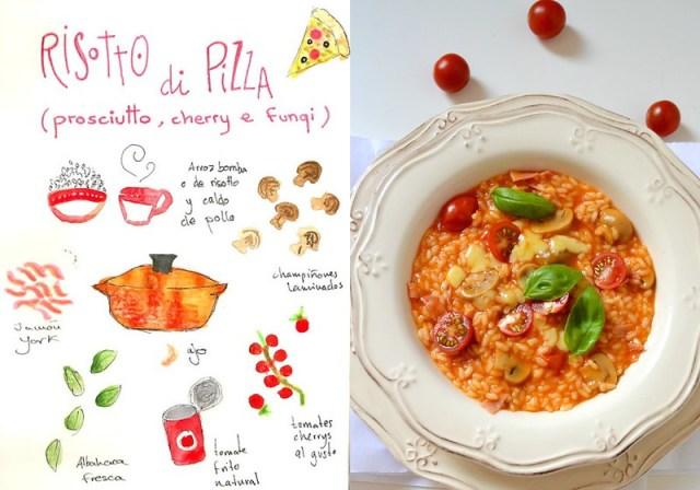 Pizza Risotto