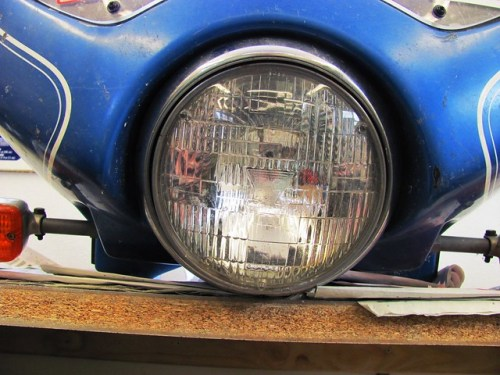 Stock Auto Headlight