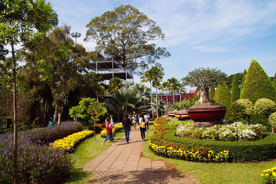 Bonsai Garden, Nong Nooch Tropical Garden, Pattaya