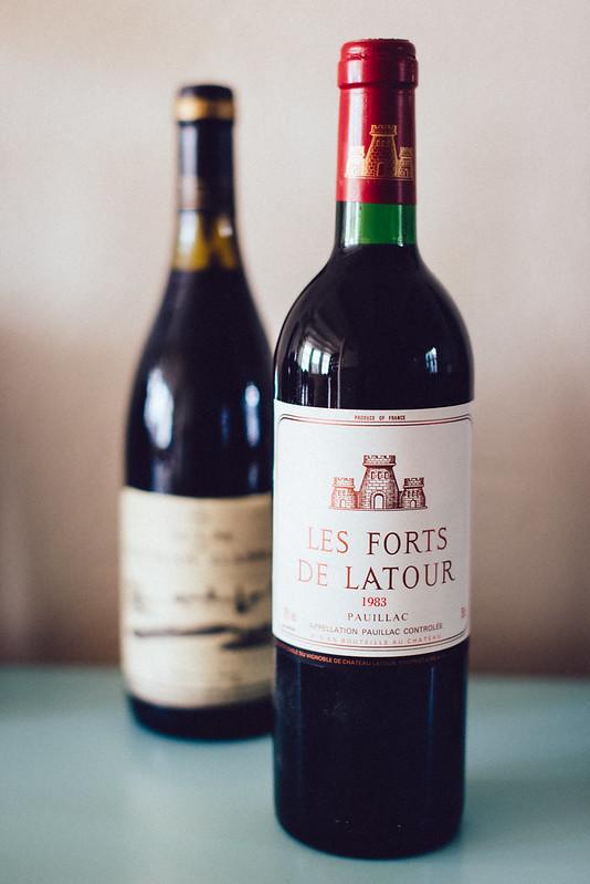 Oude wijnen en Hollandse kazen: Les Forts de Latour 1983