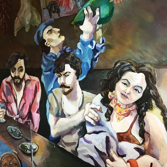 Mural Cafe Baba Reeba