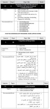 DU DC I, DC II and Applied Course Syllabus - Arabic