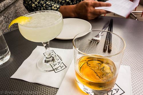 Drinks at TanakaSan