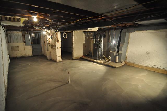 Aug 29 post concrete pour
