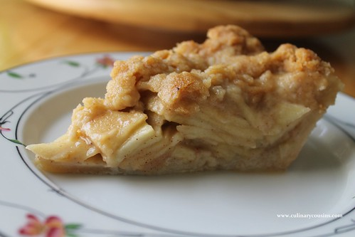 Dutch Apple Pie at www.culinarycousins.com