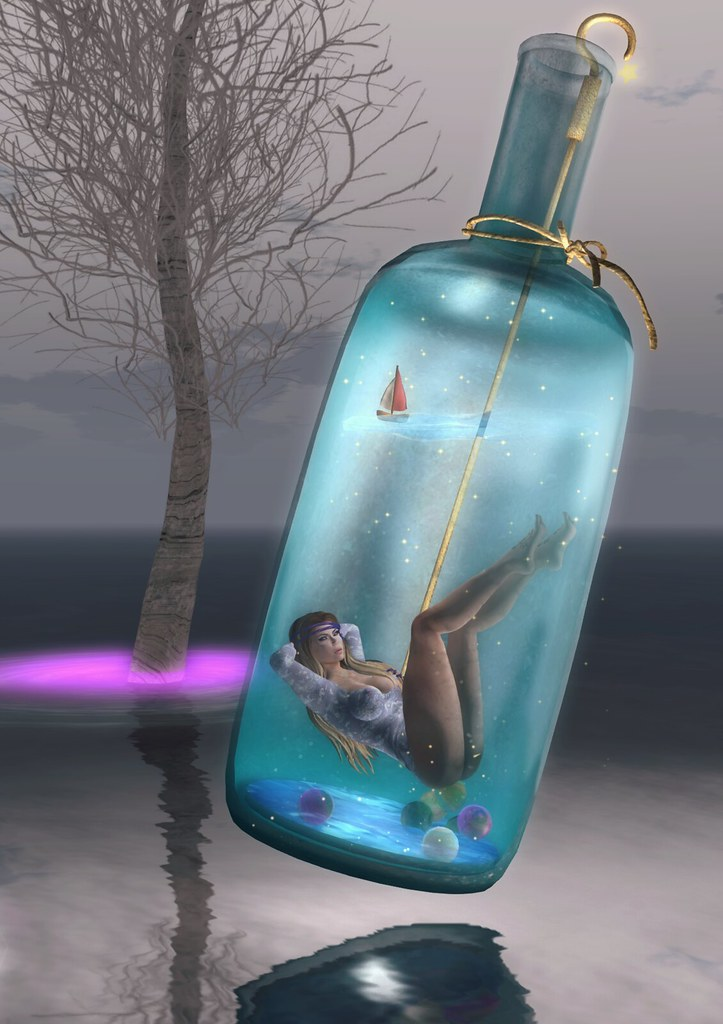 Genie in a bottle (Black Kite Sim)