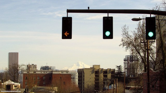 Mt. Hood - View from the PDX