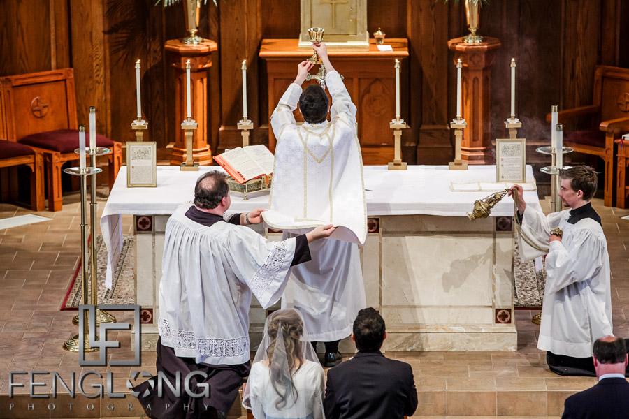 Atlanta Catholic Wedding Saint Brigid