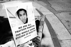 Trayvon Martin protest 73 & international Oakland Sunday July 14