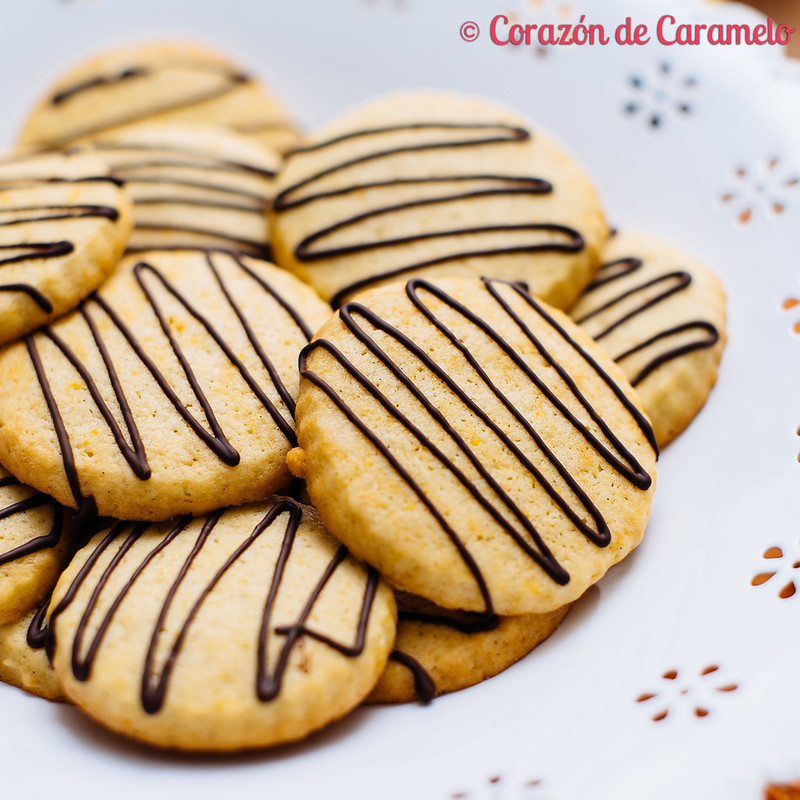 Galletas de Naranja con Chocolate