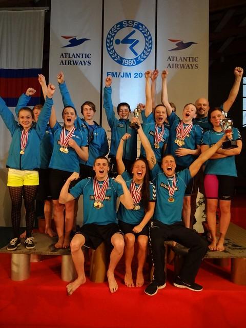 SuSvim most winning team at Faroe Champs 2013