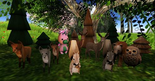 Woodland Creatures by Lexia Barzane (www.lexiabarzane.com)