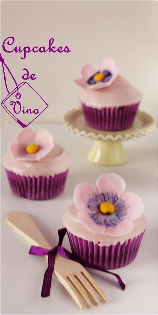 Cupcakes de Vino