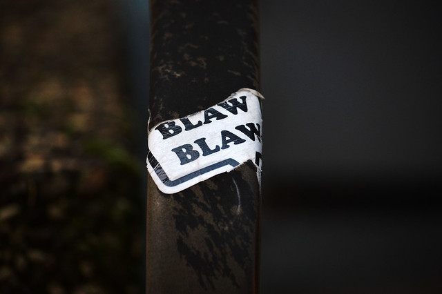 Blaw blaw