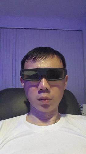 ใส่แว่น 3D แล้ว