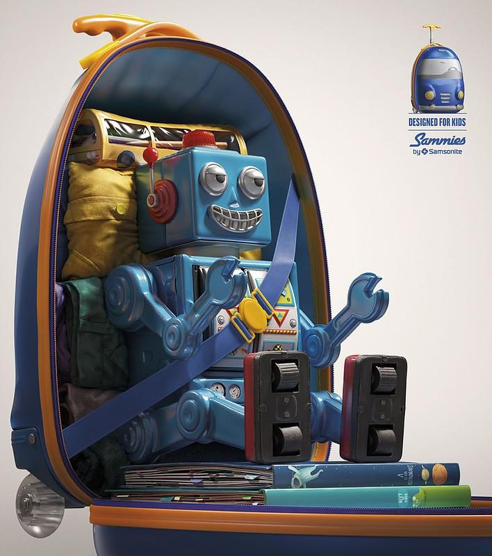 Samsonite Sammies - Robot