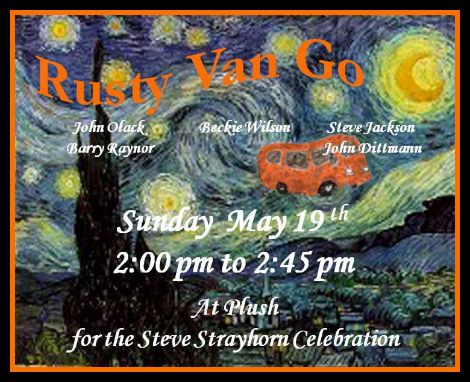 Rusty Van Go 5-19-13