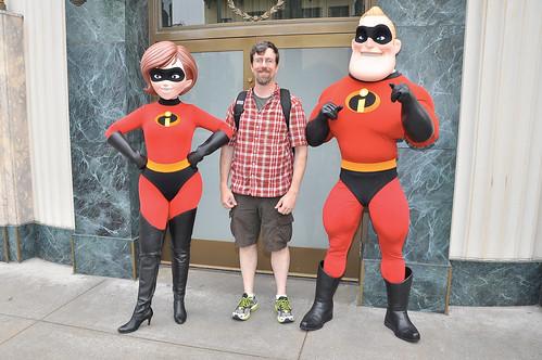 Jeff Meets His Heroes