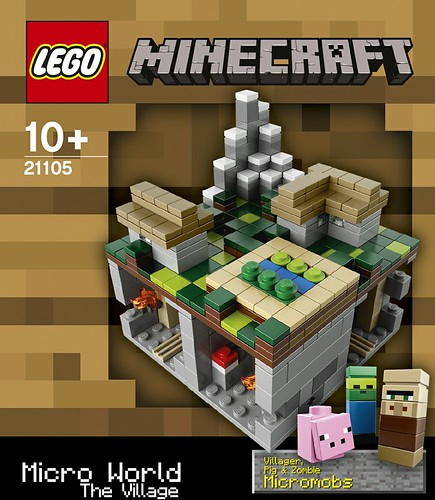 21105 Minecraft Micro World The Village