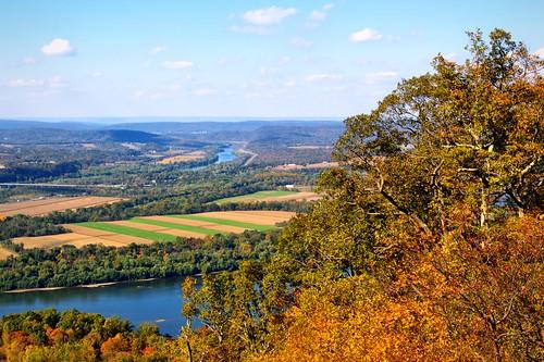 Appalachian Trail on Peters Mountain near Duncannon, PA