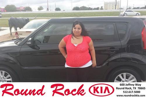 Thank you to Ashley Pachicano on your new 2013 #Kia #Soul from Roberto Nieto and everyone at Round Rock Kia! #LoveMyNewCar by RoundRockKia