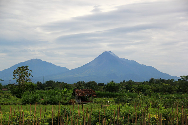Just Another View of Mount Merapi