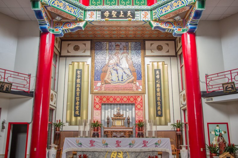 台灣台南天主教攝理