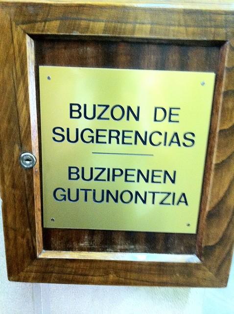 buzipenen gutunontzia