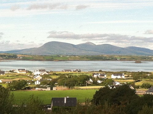 View of the Atlantic from Croagh Patrick