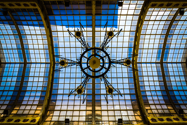 Black Eagle Palace, Oradea, Romania, Glass Ceiling