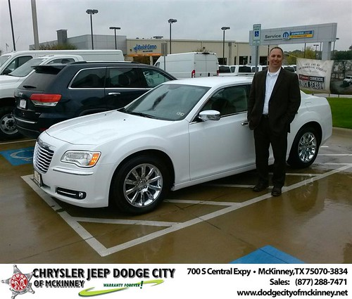 Thank you to Tom Yarbrough on your new car  from David Walls and everyone at Dodge City of McKinney! #NewCar by Dodge City McKinney Texas