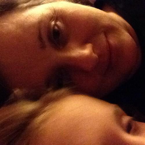 Bedtime snuggles #365feministselfie  7/365