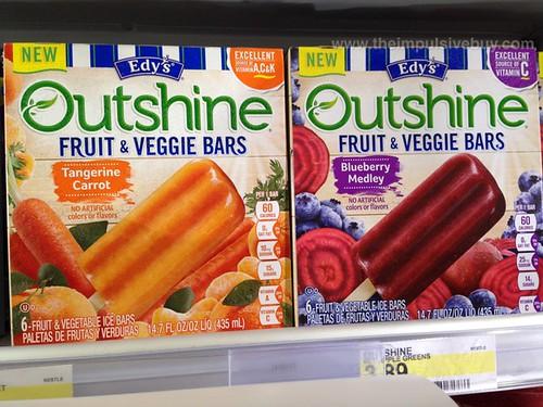 Edy's Ourshine Fruit & Veggie Bars