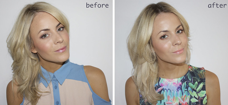 wella before and after