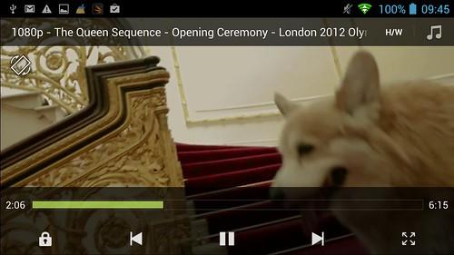 รับชมไฟล์วิดีโอ 1080p บน i-mobile IQX Octo