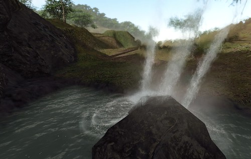 JR Waterfall Dynamic Particles