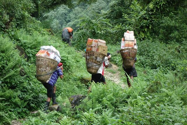 Porters of Nepal