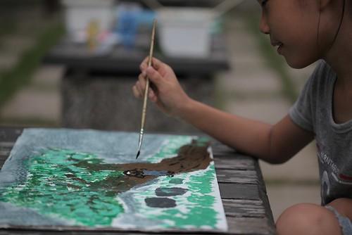 【寫生】再畫台南總爺:畫棵與自己有故事的樹(9 ys)