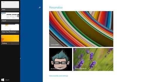 Recent apps ของ Windows 8.1 ที่ยังควรปรับปรุง
