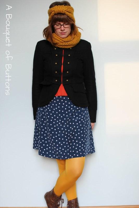 polka dot, style, OOTD
