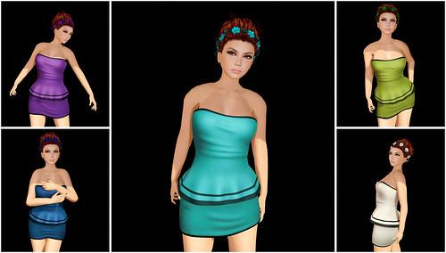 Miss Canning - Lorna Dress by Tigist Sapphire