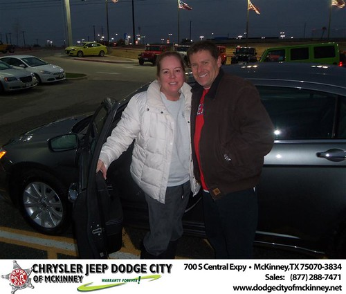 Happy Anniversary to Larry S Kelly on your 2013 #Chrysler #200Ch from Richard Ford  and everyone at Dodge City of McKinney! #Anniversary by Dodge City McKinney Texas